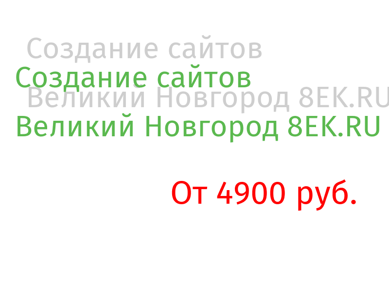 Великий Новгород Разработка веб-сайтов